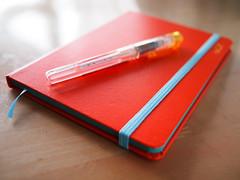 Notebook (akiko@flickr) Tags: pen notebook