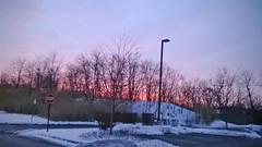 morning red sky daybreak windowssmartphone nokialumia520... (Photo: kendoman26 on Flickr)