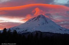 Sunset Eruption (John Behrends) Tags: sunset pentax mthood