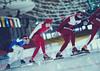 Lada Zadonskaya, Alexander Razorenov, Denis Anisimov (cheeky-picky) Tags: sport training speedskating speedskater