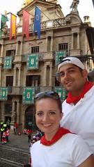 Encierro Ayuntamiento 7 (Destino Navarra) Tags: pamplona ayuntamiento navarra sanfermin encierro balcón