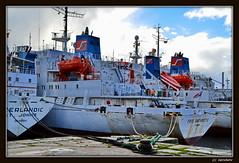 Deutschland / Niedersachsen / Wilhelmshaven (Whv) / Hafenszenen (berndwhv) Tags: port deutschland hafen nordsee schiffe wilhelmshaven niedersachsen