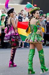 St Patrick's Day Parade, London (Mark Clemas Photography) Tags: street city carnival ireland england irish london 50mm costume nikon dancing parade stpatrick performers stpatricksday streetdancers d7000