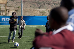 FIFA FFH Opening (Kick4Life Lesotho) Tags: lesotho lso maseru