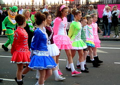 Irish Colours (dhcomet) Tags: irish london dance dancing dancer parade stpatricks gaelic