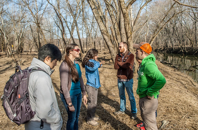 Follow the Watershed Ecotour - North Fork of the Salt Creek - March 21, 2014