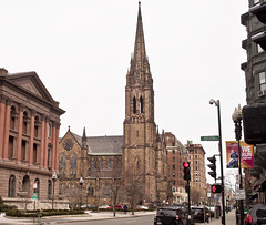Church of the Covenant Exterior (Charlene E. James) Tags: boston churchofthecovenant nationalhistoriclandmark louiscomforttiffany tiffanywindows richardmupjohn churchofthecovenantboston tiffanyglassanddecoratingcompany tiffanyinterior