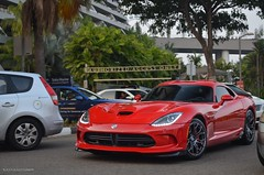 Dodge Viper GTS (BLACKFOXPHOTOGRAPHY) Tags: red cars love speed marina for bay sand singapore asia traffic fierce muscle extreme wheels ale fast exotic american dodge sa viper corvette supercar supercars gts fastcars alexpenfold effspot v12khan sathyamelvani