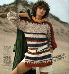 Mon tricot M 122 1975 (Homair) Tags: vintage sweater fuzzy mohair montricot