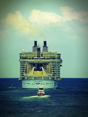 Sailing Away (Cycling man) Tags: ocean cruise sea sailing ship oasis