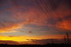 k5_imgp2689_20150719 (mick ronno) Tags: sunset pentax smc k5 夕焼け 1855mmf3556 pentaxdal 20150719