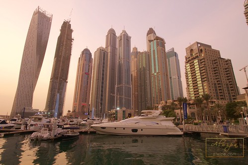 "Dubai Marina • <a style=""font-size:0.8em;"" href=""http://www.flickr.com/photos/104879414@N07/20205083586/"" target=""_blank"">View on Flickr</a>"