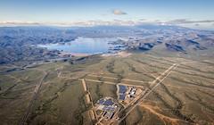 Hot Air Balloon Ride (walpert17) Tags: hot air balloon ride sky lake water pleasant arizona blue horizon view landscape color