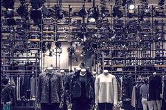 inAnimate (ruchi613) Tags: inanimate living sewingmachines mannequin allsaints design structure vintage interior