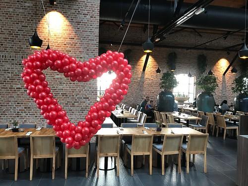 Ballonnenhart Valentijnsdag Watertuin Bergen op Zoom