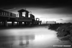 08-10-2011-8pm-34-10-000--NIKON D90-01---bw-device-2000-wm (iSuffusion) Tags: beach d90 ftdesoto hdr nikkor18200mmvr blackandwhite bridges florida fortdesoto longexposure night nikon rain stpetersburg storm sunset saintpetersburg unitedstates us