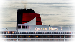 QM2 berthed at the Cruise Terminal, Southampton (martynwhittaker1987) Tags: rmsqueenmary2 qm2 transatlanticoceanliner cunardline queenelizabeth2 flagship rmsqueenmary southampton newyork annualworldcruise 2017 chantiersdelatlantique cruiseship oceanliner atlanticocean