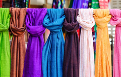 Colorful neckwears for sale at Asian street market (phuong.sg@gmail.com) Tags: asia asian assortment bangkok bazaar bright business cashmere cloth clothing colorful colors concept consumerism couture design different drapery fabric fashion goods hanging industry manufacture many market multicolored myanmar nobody palette range raw retail row sale samples scarves sell shawl shop store street style textile thailand trade vibrant