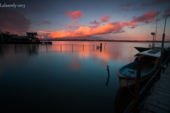 sunset (Lastio) Tags: sunset canon indonesia boat papua 1740l 5dmk2