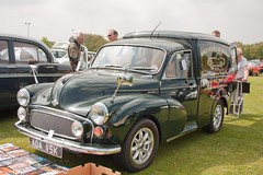1971 Morris Minor 1000 Van (Trigger's Retro Road Tests!) Tags: show classic car corner 1971 little may morris van minor essex clacton plough 1000 2013