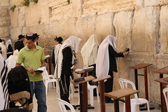 Wailing at the wall (InArtsWeTrust) Tags: wall israel jerusalem jews rabbi westernwall wailingwall canon1755mm canon650d canont4i