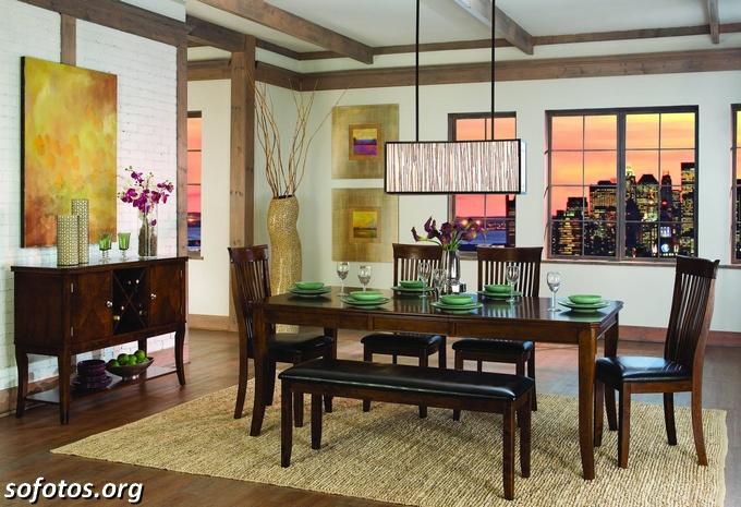 Salas de jantar decoradas (155)