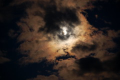 Night (Liz Grace) Tags: sky cloud moon night nighttime midnight