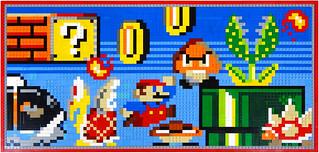 Nintendo World LEGO Mosaic / Wii U Model Platform