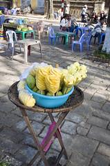 Vietnam Day 5 (BrnKng) Tags: street food fruit vietnam pineapple mango vendor hue onastick