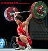 Hasanov AZE 69kg (Rob Macklem) Tags: olympic weightlifting sardar aze hasanov 69kg