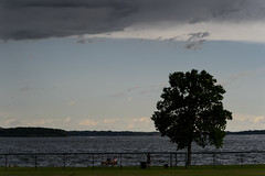 Storm Coming-46085.jpg (Mully410 * Images) Tags: tree clouds fence landscape bigisland fathersday lakeminnetonka