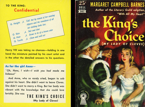 Dell Books 563 - Margaret Campbell Barnes - The King