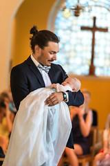 The entry (Jens Söderblom) Tags: baby church water barn candle baptism uppsala christening midsommar dop sommar d800 ljus bebis infantbaptism 2013 vindhemskyrkan