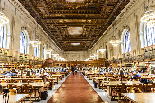 New York Public Library by JiahuiH, on Flickr