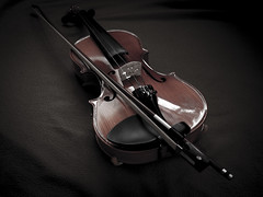 I shy & cry in dry (AD nan) Tags: music sadness violin instrument muted