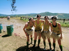 Merrell Down n' Dirty Mud Run 2010 (lisa.tufano) Tags: lake daisies costume mud military run course lazy 10k fitness obstacle tutu castaic