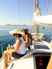 Calm sea (chrissiehannah) Tags: sea summer holiday sailing yacht sunny calm mallorca majorca pollenca dehler 37ft
