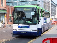 Notts&Derby 60 Nottingham (Guy Arab UF) Tags: nottingham bus buses volvo coach group amp replacement rail trent 1997 service barton premiere derby 60 notts plaxton b10m62 wellglade r960rau