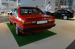Audi  80 Quattro 5E B2 Typ 85 (IAA 2013 Frankfurt) 04 Heck (H2O74) Tags: auto show new old red rot classic cars car wheel sedan vintage rouge drive back rojo automobile all alt 5 union 4wd ps voiture event international rings coche 80s carros classics carro b2 oldtimer autos tradition audi 80 veranstaltung messe 31 rood rosso halle limousine awd coches 80er neu 65 internationale ausstellung voitures iaa fahrzeug 136 automvil quattro fahrzeuge showcar youngtimer zylinder automobil klassiker pkw kfz vorsprungdurchtechnik sonderschau automobilausstellung schau allrad 2013 kraftfahrzeug autoschau showfahrzeug