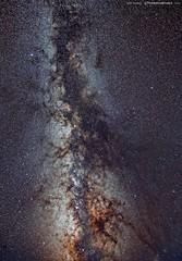The Northern Hemisphere Milky Way, long exposure stack (TheAstroShake) Tags: Astrometrydotnet:status=failed Astrometrydotnet:id=supernova8572