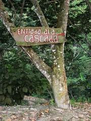 Minca, Colombia (Dec-2010) 13-027 (MistyTree Adventures) Tags: southamerica sign waterfall colombia minca cascadademarinka