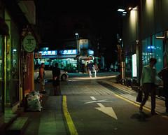 ... (june1777) Tags: street light night pentax kodak bokeh snap seoul portra 800 67 105mm f24 pentax67 bukchon sogyeokdong