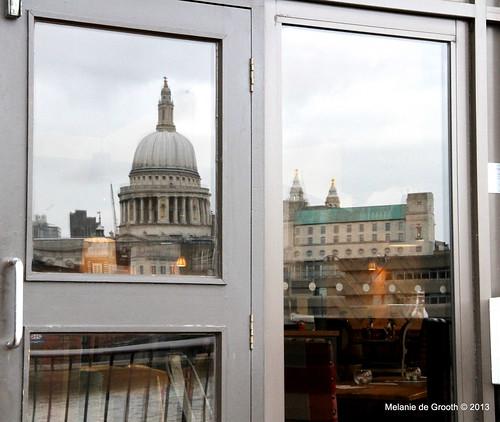 St Pauls Reflected