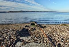 Salt on the Rails (Fairlane221) Tags: lighthouse beach washington rust rocks ruin rusty rails wa pugetsound boathouse oxidized brownspoint salishsea