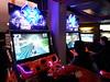 Deux bornes d'arcade Snocross (Dacobah) Tags: arcade borne bornes latetedanslesnuages
