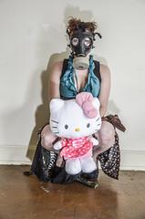 DSC_0305 (Studio5Graphics) Tags: fetish dark model waiting moody post hellokitty apocalypse gasmask 2013