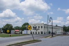 Barnesville (jwcjr) Tags: railroadcrossing railwaysignal barnesvillega barnesville smalltownga