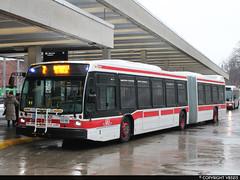 Toronto Transit Commission #9001 (vb5215's Transportation Gallery) Tags: toronto bus nova ttc transit commission artic lfs 2013