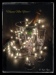 Happy New Year! (Kate Ryan Fine Art Photography) Tags: lights crystal champagne happynewyear 2014 bestofhealth