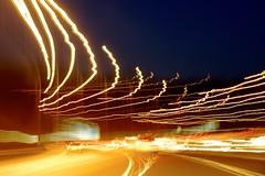 Motorway trails (Rob Emes) Tags: road longexposure travel canon lights motorway trail 7d 365 1585 365project canon7d 3652013 dec2013